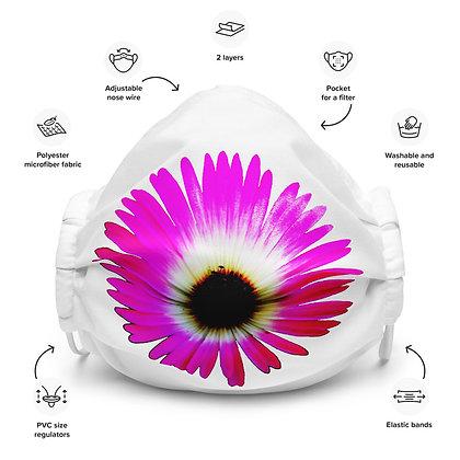 Face mask Dorotheanthus / white