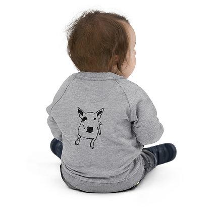 Baby Organic Bomber Jacket Bull Terrier