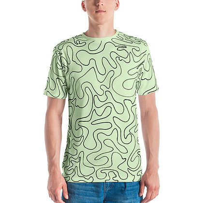 Men's T-shirt Figures Green