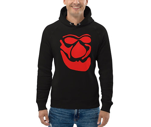 Men's Eco Hoodie Face red