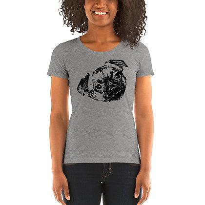 Ladies' short sleeve t-shirt Griffon petit brabancon 2