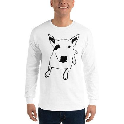 Men's Long Sleeve Shirt Bull Terrier
