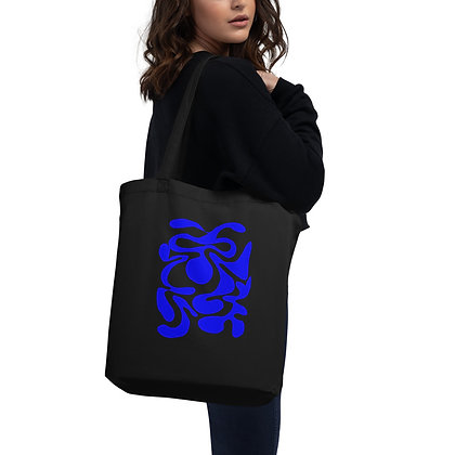 Eco Tote Bag Hidden blue