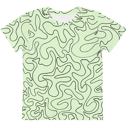 Kids T-Shirt Figures Green