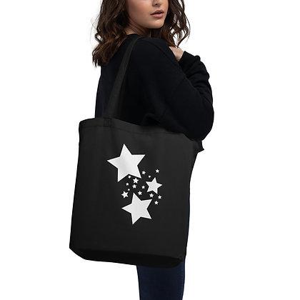 Eco Tote Bag White stars
