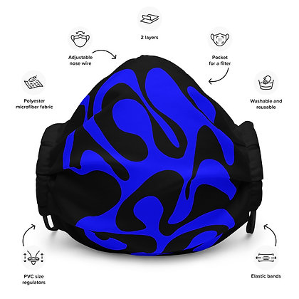Face mask Follow / Blue