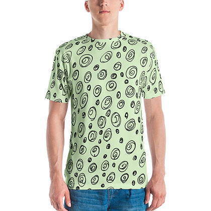 Men's T-shirt Cinnamon buns Green