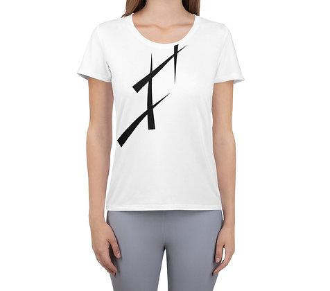 Women's Athletic T-shirt Triangulate