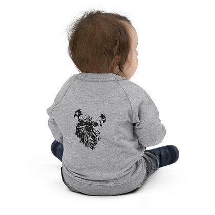 Baby Organic Bomber Jacket Griffon bruxellois 2