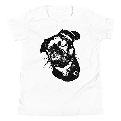 Youth Short Sleeve T-Shirt Griffon petit brabancon 3
