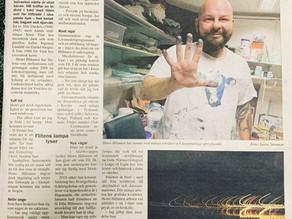 Article about me written by Lasse Stenman.