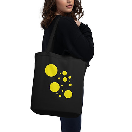 Eco Tote Bag Yellow dots