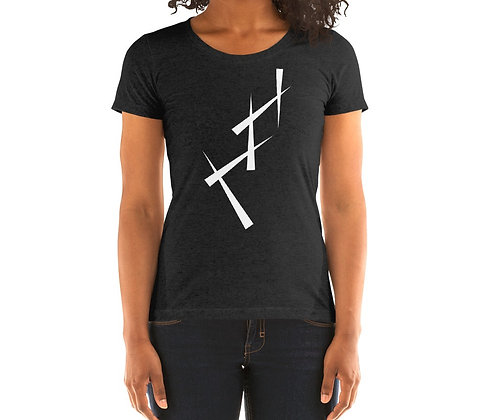 Ladies' short sleeve t-shirt Triangulate