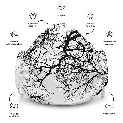 Face mask Trees 1