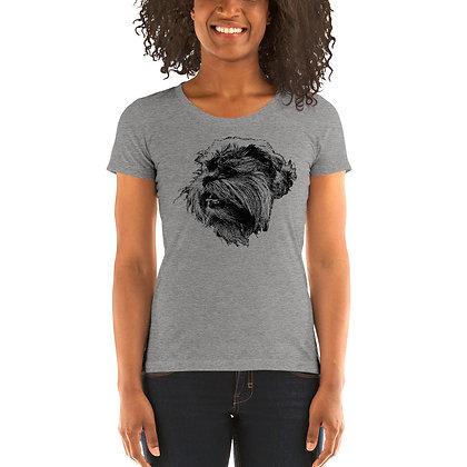 Ladies' short sleeve t-shirt Griffon bruxellois 3