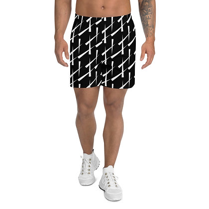 Men's Athletic Long Shorts Triangulate