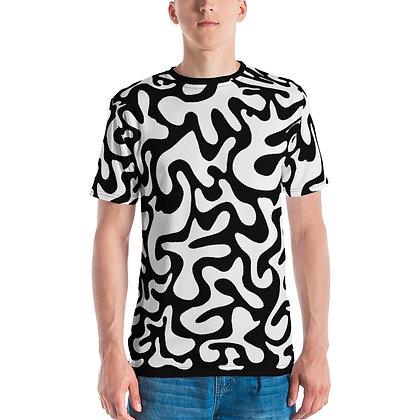 Men's T-shirt Figures Black & White