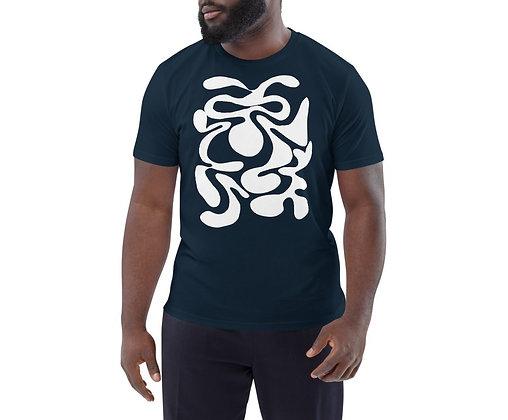 Men's organic cotton t-shirt Hidden white