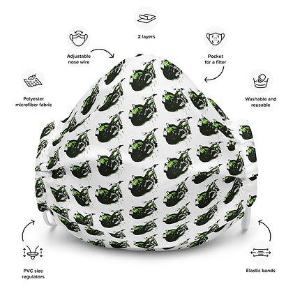 Face mask Harley Davidson / green