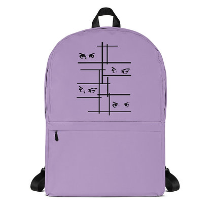 Purple Backpack I see you