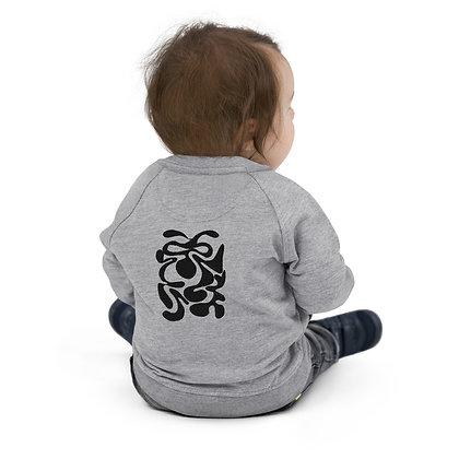 Baby Organic Bomber Jacket Hidden black