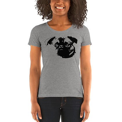 Ladies' short sleeve t-shirt Griffon petit brabancon 1