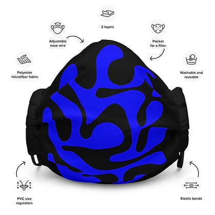 Face mask Grow / Blue