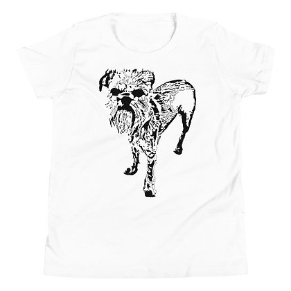 Youth Short Sleeve T-Shirt Griffon bruxellois 1