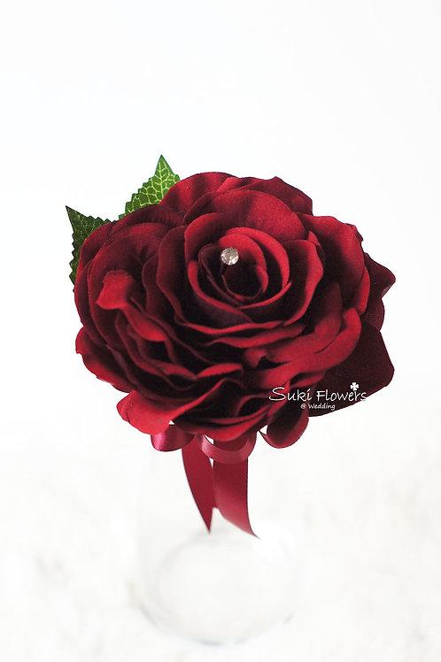 Super Composite Rose襟花