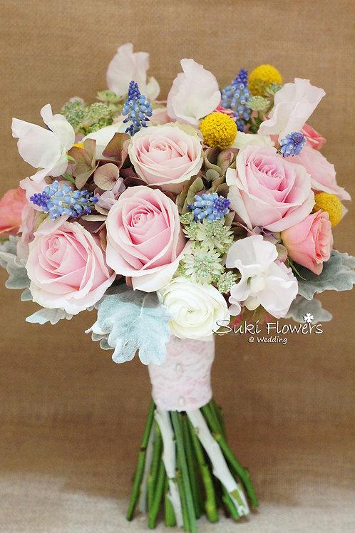 日本香豌豆葡萄風信子玫瑰繡球鮮花花球