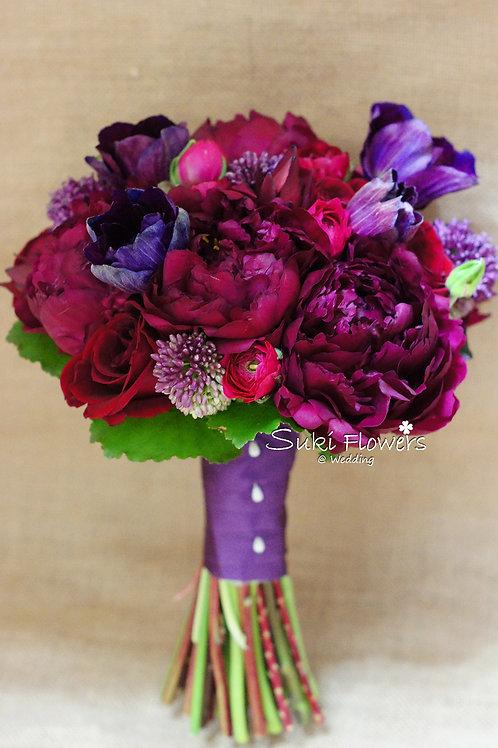 夢牡丹夢羅麗莎洋牡丹玫瑰鮮花花球