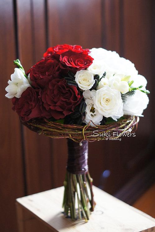 庭園玫瑰繡球鮮花花球