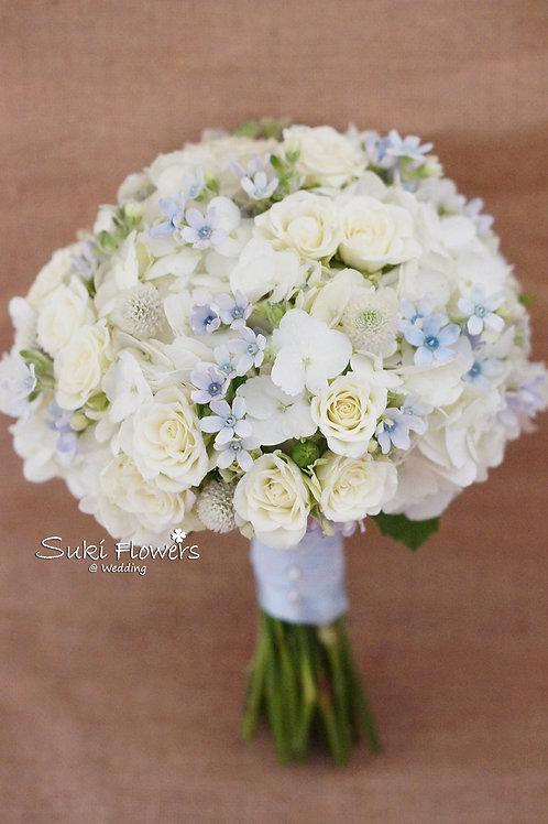 日本藍星花繡球小玫瑰千日紅鮮花花球
