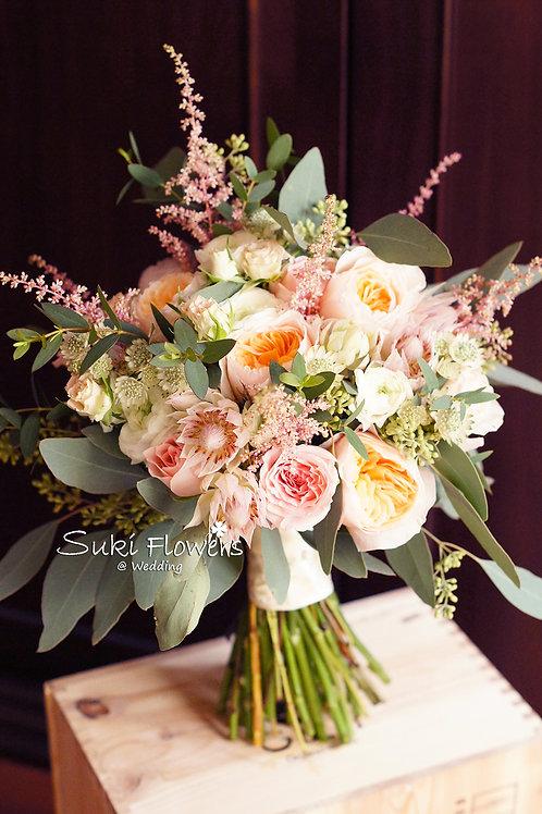 庭園玫瑰小玫瑰泡盛草洋牡丹鮮花花球