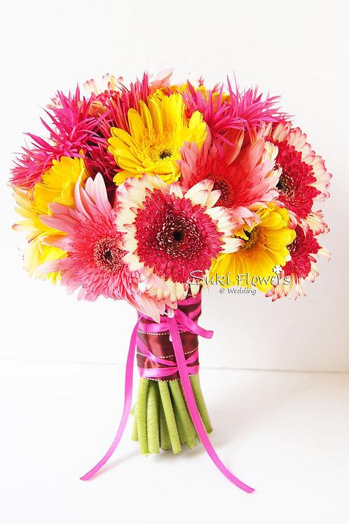 太陽菊鮮花花球