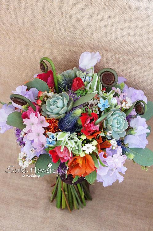 香豌豆夢羅麗莎肉肉植物小百合藍星鮮花花球