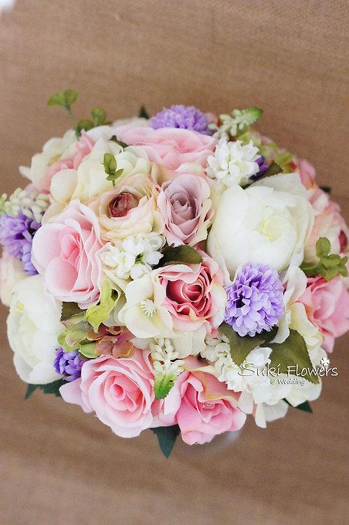 玫瑰大牡丹繡球風信子乒乓菊仿真絲花花球