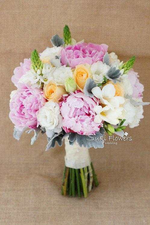 大牡丹玫瑰桔梗鉸剪蘭小雀梅鮮花花球