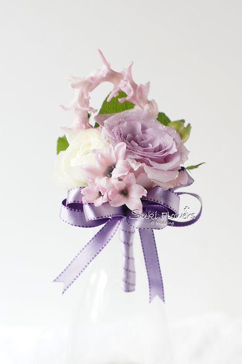 風信子玫瑰洋牡丹鮮花襟花
