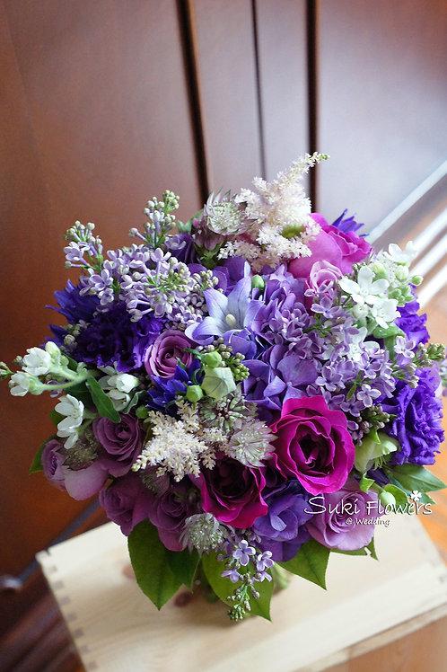庭園玫瑰丁香繡球星花鮮花花球