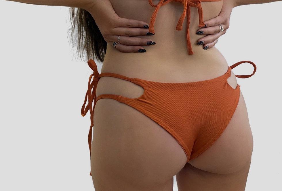 TRACE BIKINI BOTTOMS - Burnt Orange