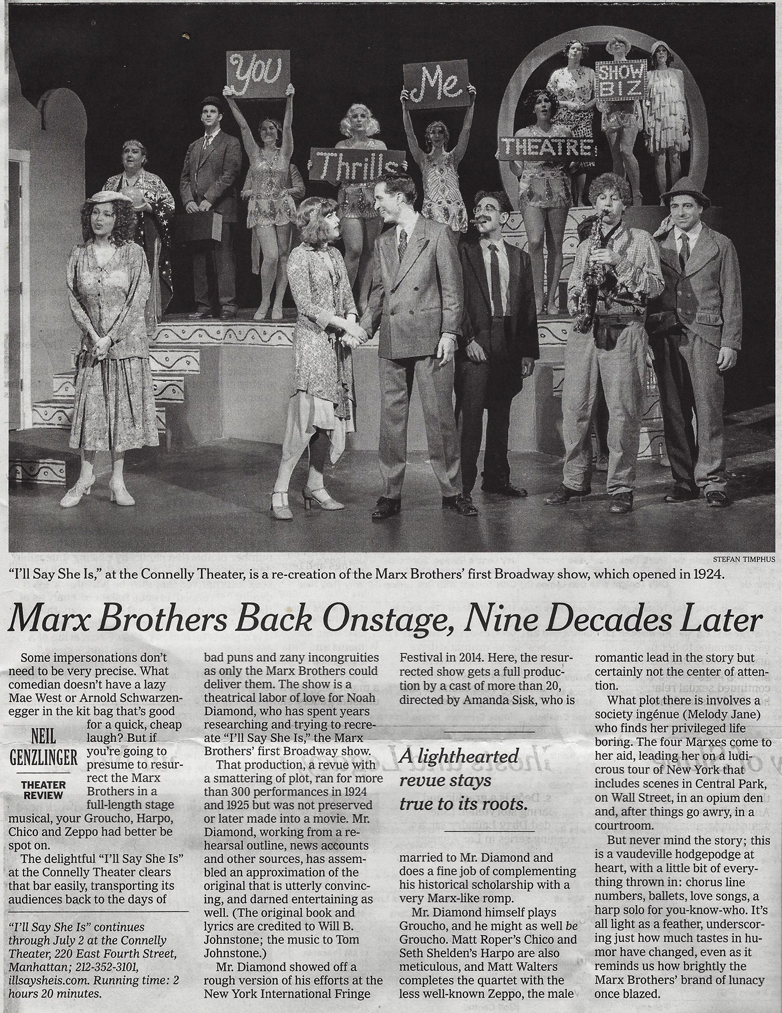 New York Times Article