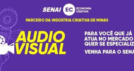 Últimos dias para se inscrever nos cursos da Escola SENAI para o Audiovisual
