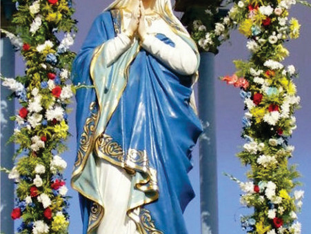 Hoje é o dia de Nossa Senhora Imaculada Conceição