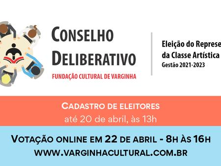 Eleição do Conselho da Fundação Cultural acontece na próxima semana