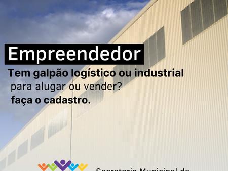SECRETARIA DE DESENVOLVIMENTO ECONÔMICO DE VARGINHA CADASTRA IMÓVEIS PARA FINS INDUSTRIAIS