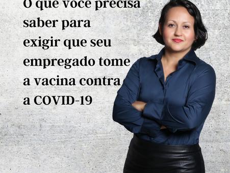 DRA. SUZIANA COMUNIAN FALA SOBRE 0BRIGATORIEDADE DA VACINA NO AMBIENTE DE TRABALHO