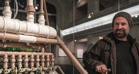 Paulo Nenflidio realiza exposição no Espaço de Eficiência Energética SESI CEMIG