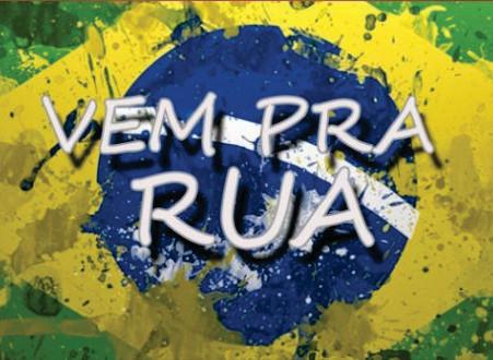 """""""Vem pra rua Brasil"""""""