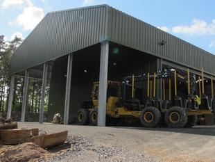 Forestry Workshop, Balmakewan Woodland, Aberdeenshire